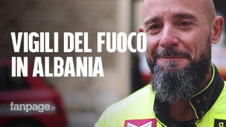 """Terremoto Albania, vigili del fuoco italiani: """"Mamma e tre figli morti abbracciati, immagine indelebile"""""""