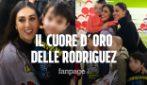 """Belen e Cecilia Rodriguez vendono i loro abiti per comprare doni ai bambini: """"Fate bene al cuore"""""""