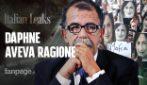 """Italian Leaks, La lunga notte di Malta, il governo sotto assedio: """"Non dovevate uccidere Daphne"""""""