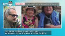 """Yari Carrisi ricorda nonna Jolanda ai microfoni di Mattino Cinque: """"È andata via con grande dignità"""""""