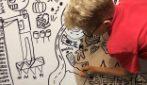 The Doodle Boy, il piccolo artista che realizza il suo sogno grazie all'amore dei genitori