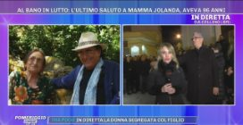 Il video dei funerali di Jolanda Ottino, la mamma di Al Bano