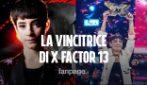 Sofia Tornambene vince X Factor 13: chi è la 16enne vincitrice del talent
