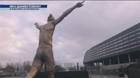 Ibra, ancora vandalizzata la statua a Malmoe