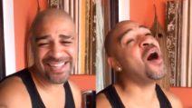 Adriano ha nostalgia dell'Italia e canta Tiziano Ferro