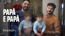 """Christian, Carlo e i loro due gemelli avuti con maternità surrogata: """"Siamo due papà felici"""""""