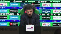 """Napoli, Gattuso: """"Non siamo ancora guariti"""""""