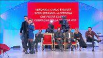 """Veronica e Alessandro lasciano """"Uomini e Donne"""""""