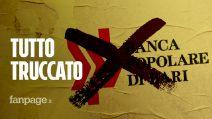 """Banca Popolare di Bari, l'audio esclusivo: """"I conti sono truccati, politici sono dalla nostra parte"""""""