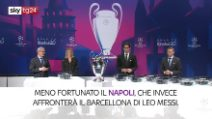 Calcio, il sorteggio di Champions League ed Europa League