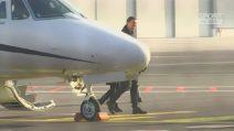 Milan, Ibrahimovic è sbarcato a Linate alle 11.30