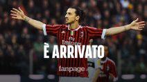 Ibrahimovic è arrivato a Milano: visite e firma con il Milan, domani la presentazione