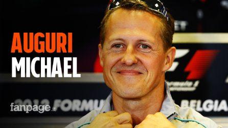 Buon compleanno Michael Schumacher: campione nello sport e nella vita