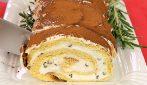 Tronchetto di pandoro con crema di ricotta: il dolce di Natale senza cottura da provare subito!