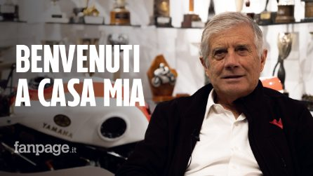 Giacomo Agostini, la Sala Trofei della Leggenda della MotoGP