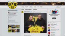 Calciomercato, Erling Haaland al Borussia Dortmund