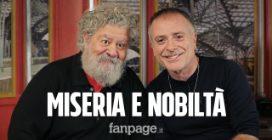 """Lello Arena: """"Recitare 'Miseria e nobiltà' è il massimo per un comico"""""""