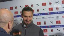"""Ibrahimovic al debutto con la Samp: """"Il mio sogno era fare gol, questo Milan si rialzerà"""""""