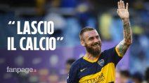 """De Rossi si ritira: """"Lascio il Boca Juniors, voglio avvicinarmi a mia figlia. Ecco cosa farò"""""""
