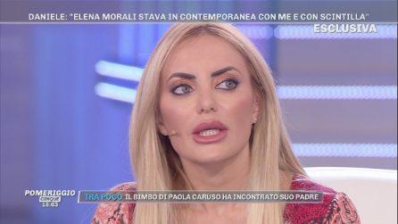 """Pomeriggio Cinque, Elena Morali: """"Stavo contemporaneamente con Daniele Di Lorenzo e con Scintilla"""""""