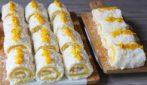 Mini rolls all'arancia: la ricetta furba per preparare un goloso dessert