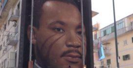 """Martin Luther King alla periferia Est di Napoli, Jorit: """"Un simbolo di forza per reagire"""""""