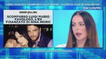 La scomparsa di Luigi Favoloso, la verità di Nina Moric a Domenica Live