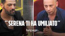 """Grande Fratello Vip, scontro tra Pago e Salvo Veneziano: """"Serena ti ha umiliato, chi ama non lo fa"""""""