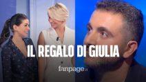 C'è posta per te. Il regalo di Giulia Michelini a Francesco e Marisa, malata di sclerosi multipla