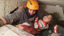 Terremoto Turchia, una bambina di 2 anni estratta viva dalle macerie