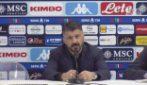 """Napoli, Gattuso: """"Giocando da squadra si vince"""""""