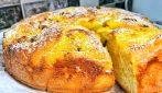 Torta brioche al formaggio: bella, alta e soffice