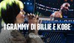 Grammy Awards 2020: Billie Eilish asso pigliatutto e il ricordo degli artisti per Kobe Bryant
