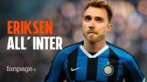 Christian Eriksen è arrivato a Milano: le cifre del contratto e quanto guadagnerà all'Inter