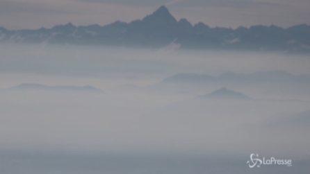 L'aria che respiriamo vista dalle Alpi: Torino e il Piemonte invase da polveri e smog