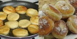 Fried mini bombs: the easy recipe to surprise your guests