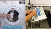 Como limpar a máquina de lavar roupas usando apenas produtos naturais!