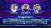 Televoto flash per Pasquale, Patrick e Sergio
