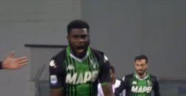 Sassuolo-Torino, gol fantastico di Boga
