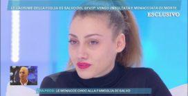 """La figlia di Salvo Veneziano in lacrime: """"Sono stata bullizzata"""""""