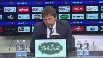 """Inter, Antonio Conte: """"Se il motore non è a giri alti siamo una squadra normale"""""""