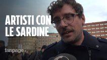 """Artisti in piazza con le Sardine. Willie Peyote: """"Se esiste un dissenso è giusto manifestarlo"""""""