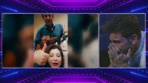 Grande Fratello Vip, Ivan Gonzalez in lacrime per gli auguri di buon compleanno dei nonni