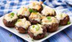 Funghi ripieni: il contorno facile e sfizioso perfetto per accompagnare ogni tipo di piatto!