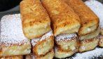 Bastoncini di ricotta dolci: semplici, veloci e deliziosi