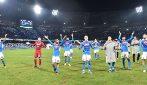 Napoli-Lazio, torna la voglia di far festa: i calciatori azzurri cantano e ballano con i tifosi