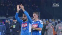 Coppa Italia, Napoli-Lazio 1-0: gli highlights
