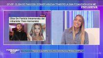 "Elisa De Panicis sul terzino del Milan Theo Hernandez: ""Ci stavamo frequentando, lui non voleva si venisse a sapere"""