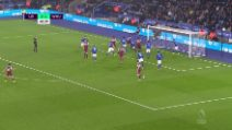Premier League, Leicester-West Ham 4-1: gol e highlights