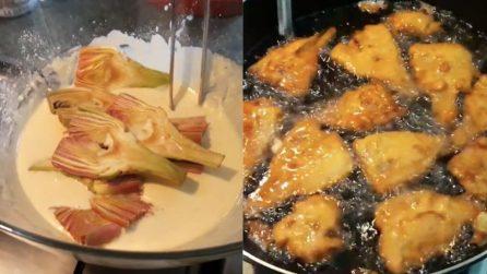 Carciofi in pastella: la ricetta del contorno semplice e saporito
